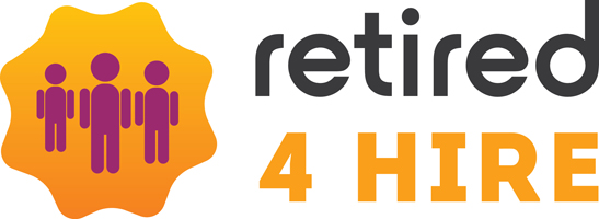 retired4hire logo
